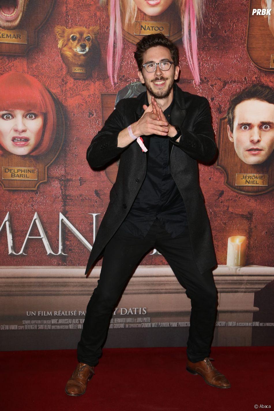 Kemar à l'avant-première du film Le Manoir le 9 juin 2017 au Grand Rex à Paris