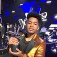 Lisandro Cuxi gagnant de The Voice 6