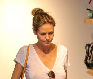 Heidi Klum est fan de la mode sans soutien-gorge !