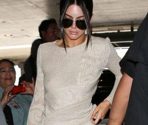 Kendall Jenner est fan de la mode sans soutien-gorge !