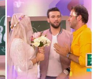 Les Anges 9 : Mélanie et Fabrice Sopoglian mariés dans la Summer Class du Mad Mag !