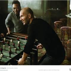 Zidane, Pelé et Maradona ... jouent au Baby Foot pour Louis Vuitton