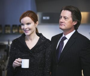 Kyle MacLachlan et Marcia Cross dans Desperate Housewives