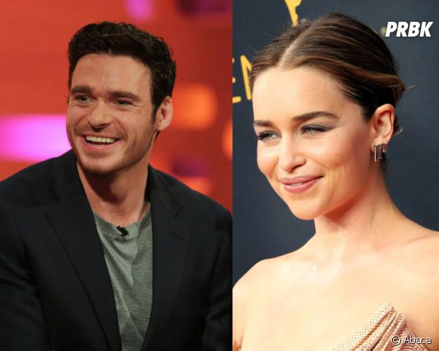 Game of Thrones : Richard Madden et Emilia Clarke en couple sur le tournage ?