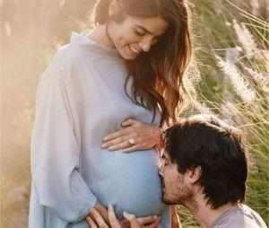 Ian Somerhalder et Nikki Reed lors de l'annonce de la grossesse de l'actrice