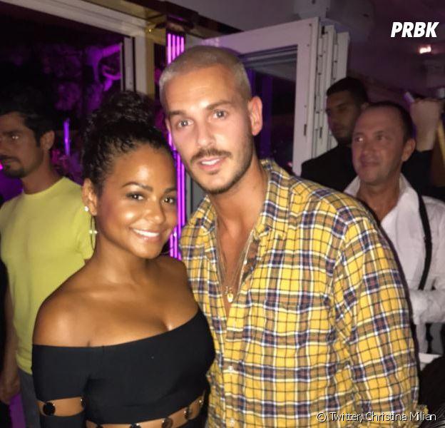 M. Pokora et Christina Milian en couple : la chanteuse in love sur Twitter
