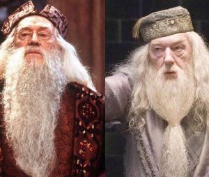 Richard Harris remplacé par Michael Gambon dans Harry Potter