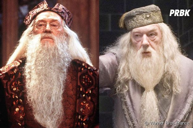 Richard Harris remplacé par Michael Gambon dans Harry Potter