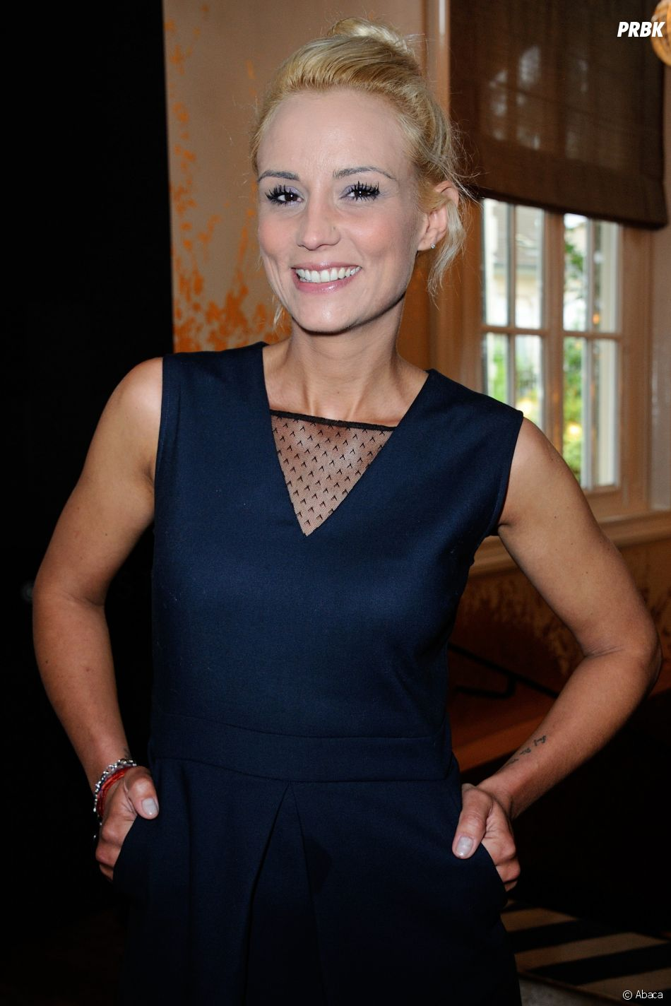 Elodie Gossuin au casting de Danse avec les Stars 8