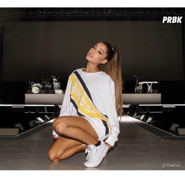 Ariana Grande égérie pour Reebok : la chanteuse est fière de représenter la marque !