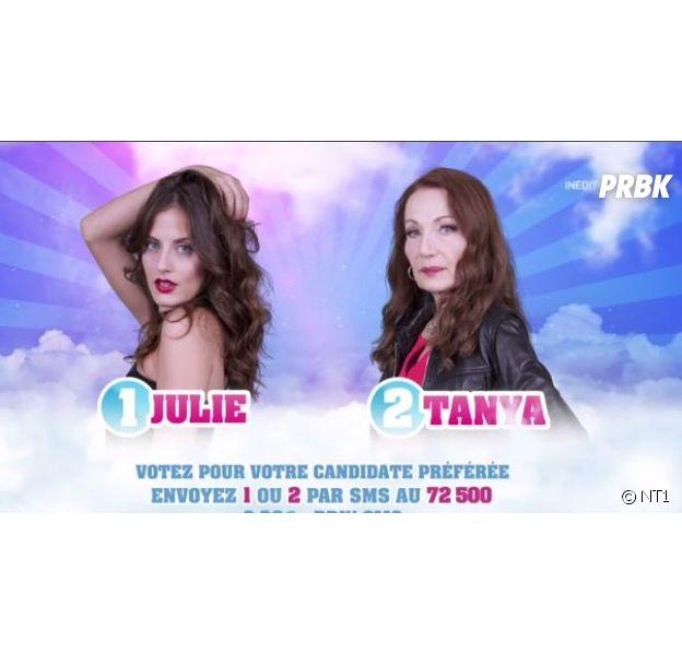Julie (Secret Story 11) et Tanya nominées : les sondages mitigés sur le nom de l'éliminée