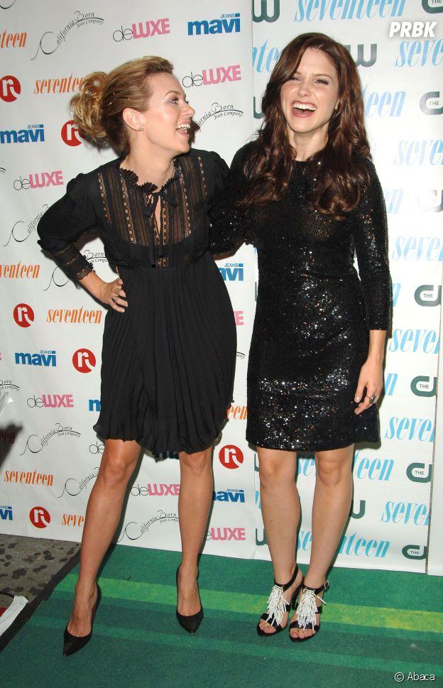 Hilarie Burton et Sophia Bush amies dans la vie