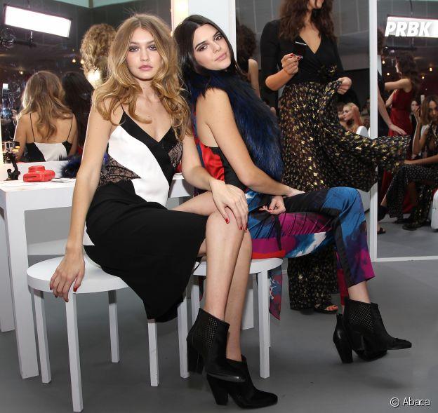 Kendall Jenner et Gigi Hadid amies dans la vie