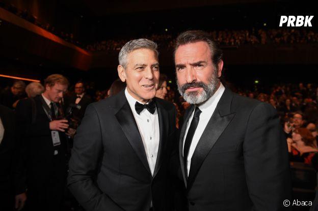 Jean Dujardin et George Clooney amis dans la vie