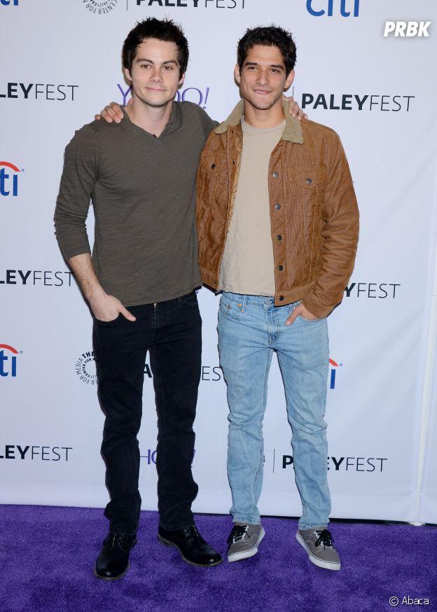 Tyler Posey et Dylan O'Brien amis dans la vie