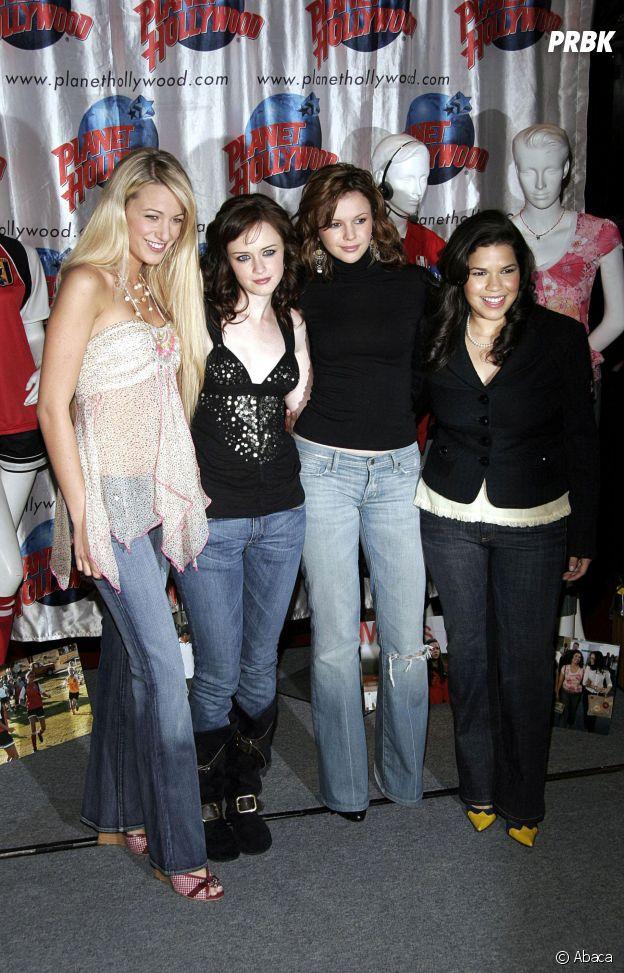 Blake Lively, Alexis Bledel, Amber Tamblyn et America Ferrera amies dans la vie
