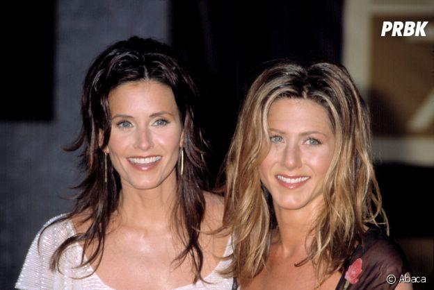 Jennifer Aniston et Courteney Cox amies dans la vie