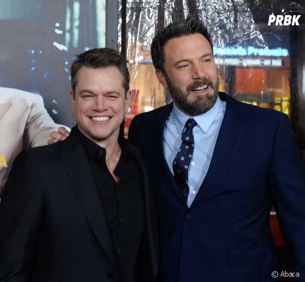 Matt Damon et Ben Affleck amis dans la vie