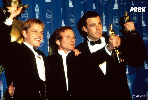 Ben Affleck et Matt Damon amis et récompensés aux Oscars en 1997