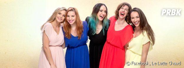 Léa Camilleri, Marjorie Le Noan, Natoo, Juliette Tresanini et Audrey Pirault lancent une chaîne YouTube : Le Latte Chaud