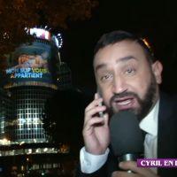 Cyril Hanouna projeté en slip sur la tour de TF1 ! La nouvelle provoc dont il est TRÈS fier
