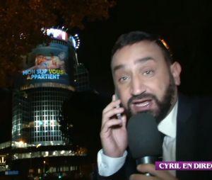 Cyril Hanouna projeté en slip sur la tour de TF1 !