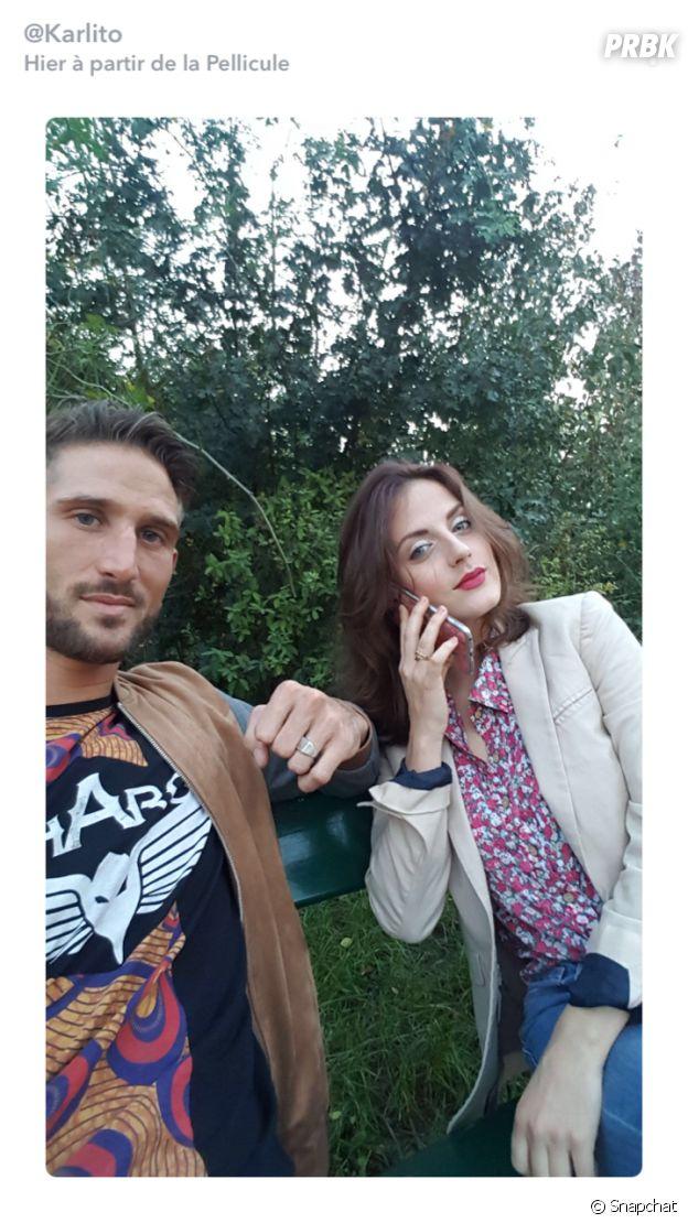 Julie (Friends Trip 4) et Charles s'affichent ensemble sur Snapchat
