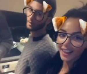 Nabilla Benattia et Thomas Vergara passent un week-end en famille dans leur appartement de folie à Londres !