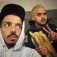 Oli (Bigflo & Oli) vainqueur aux NMA 2017 : il se teint les cheveux en blond