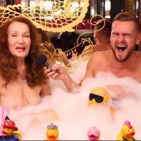 Tanya (SS11) topless dans le bain de Jeremstar : la mamie rebelle affiche fièrement ses seins
