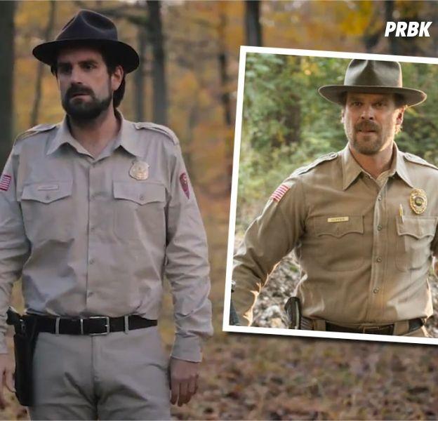 Stranger Things : Grégoire du Palmashow, sosie du shérif Hopper ? La vidéo délirante