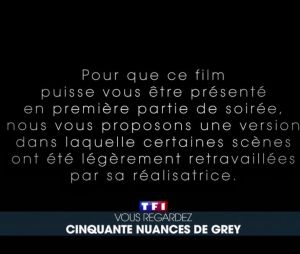 Fifty Shades of Grey : le film censuré par TF1