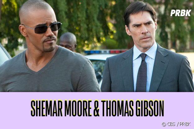 Thomas Gibson et Shemar Moore : ces duos de séries qui ne s'aiment pas dans la vie
