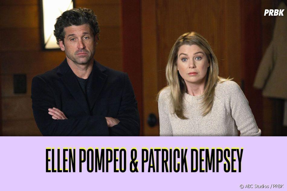 Ces duos qui ne s'aiment pas dans la vie : Ellen Pompeo et Patrick Dempsey