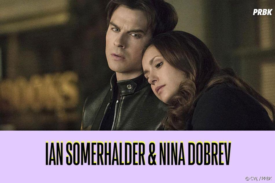 Nina Dobrev et Ian Somerhalder : ces duos de séries qui ne s'aiment pas dans la vie