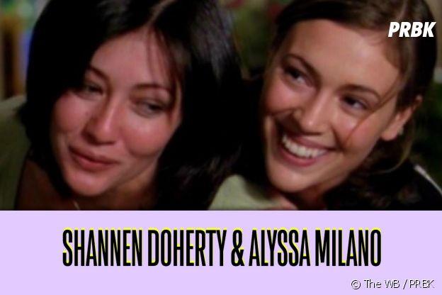 Shannen Doherty et Alyssa Milano : ces duos de séries qui ne s'aiment pas dans la vie
