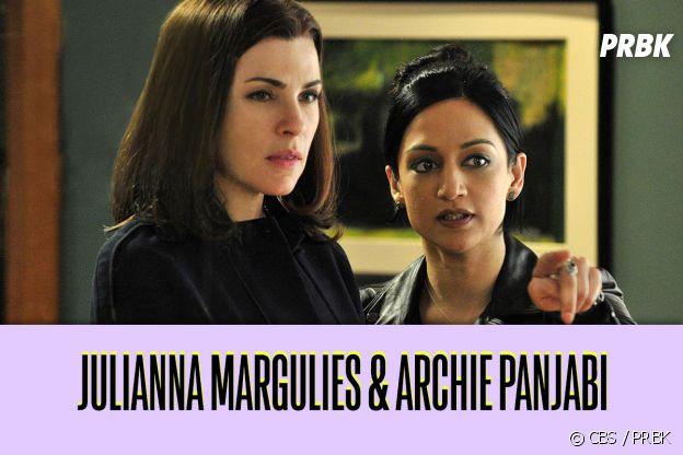 Archie Panjabi et Julianna Margulies : ces duos de séries qui ne s'aiment pas dans la vie