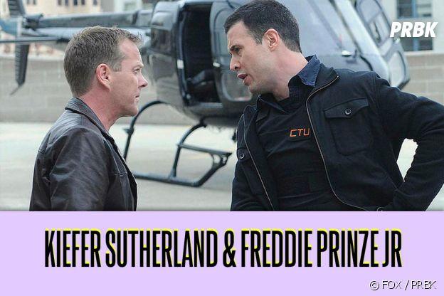 Kiefer Sutherland et Freddie Prinze JR : ces duos de séries qui ne s'aiment pas dans la vie