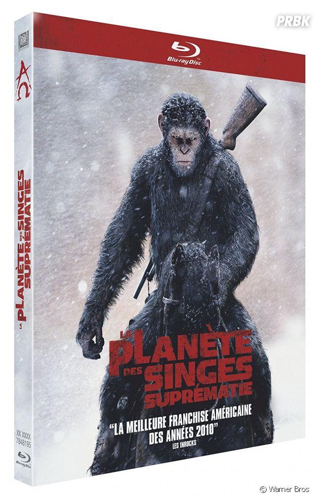La Planète des Singes - Suprématie en DVD et Blu-Ray.