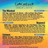 Coachella 2018 : Beyoncé, Eminem, The Weeknd... la programmation XXL du festival ☀️