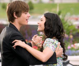 Zac Efron et Vanessa Hudgens dans High School Musical
