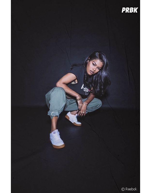 "Teyana Taylor en mode ""Always Classic"" dans la nouvelle campagne de Reebok !"