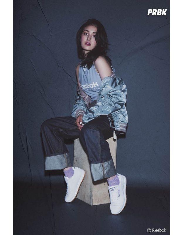 """Somi en mode """"Always Classic"""" dans la nouvelle campagne de Reebok !"""