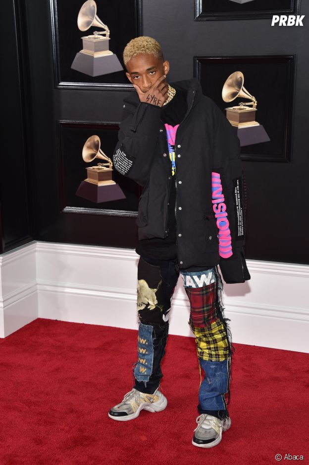 Jaden Smith en sneakers aux Grammy Awards 2018 !