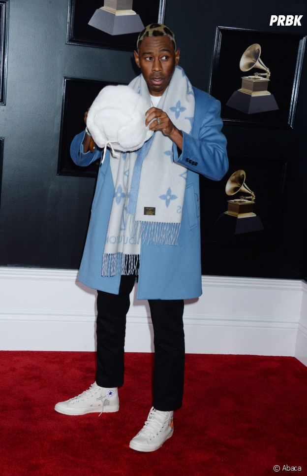 Tyler The Creator en sneakers aux Grammy Awards 2018 !