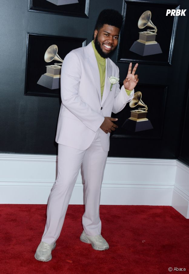 Khalid en sneakers aux Grammy Awards 2018 !