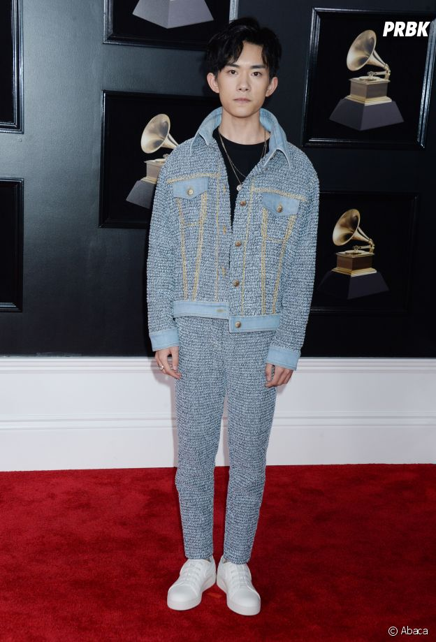 Jackson Y en sneakers aux Grammy Awards 2018 !