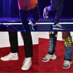Bruno Mars, Kendrick Lamar, Jaden Smith... Les sneakers stars du red carpet des Grammy Awards 2018