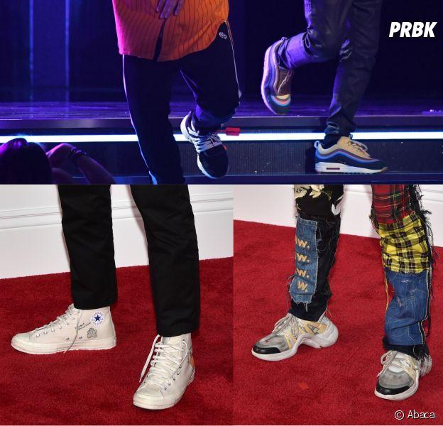 Bruno Mars, Kendrick Lamar, Jaden Smith... Les sneakers ...