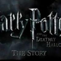 Harry Potter et les reliques de la mort ... Regardez les premières images du film
